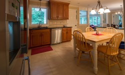 Kitchen, facing sunroom